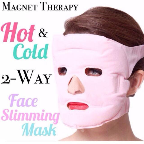 2 in 1 Hot/Cold Soothing Mask with Tournaline Magnet Therapy
