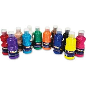 Dixon 12 Color Prang Washable Paint Set