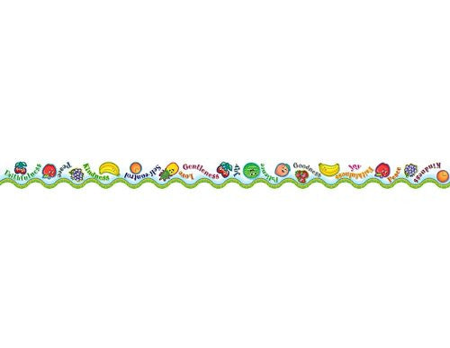 Teacher Created Resources Fruit of the Spirit Border Trim, Multi Color (7036)