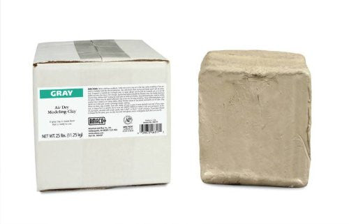 AMACO 25 Pound Air Dry Clay