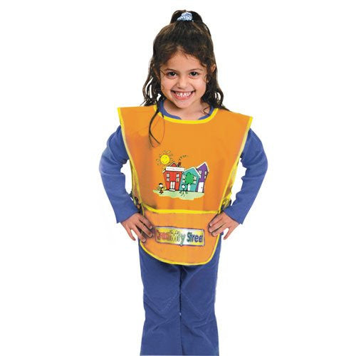 Chenille Kraft 5207 Kraft Artist Smock Fits Kids Ages 3-8 Vinyl Bright Colors