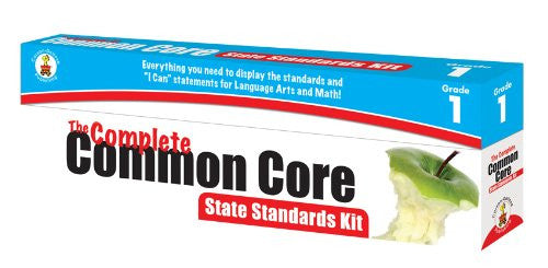 Carson Dellosa The Complete Common Core State Standards Kit Pocket Chart Cards (158169)