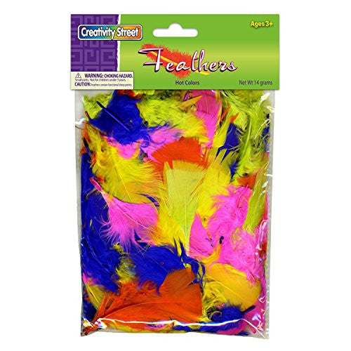 Creativity Street Turkey Plumage Feathers Hot Colors