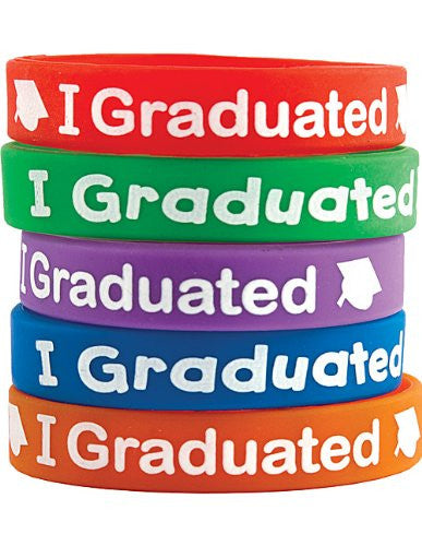 Teacher Created Resources I Graduated Wristbands