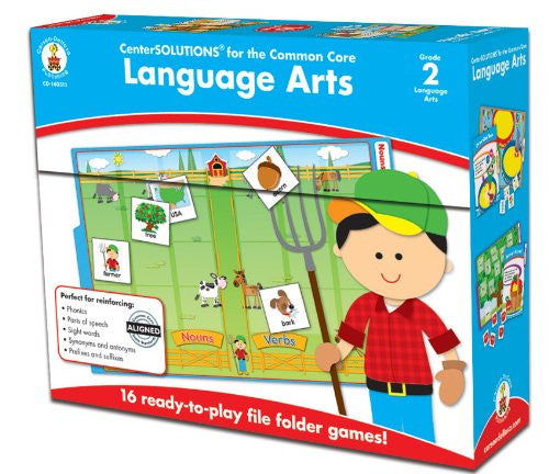 Carson Dellosa Language Arts File Folder Game (140311)