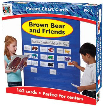 Brown Bear & Friends Pocket Charts Gr Pk-1