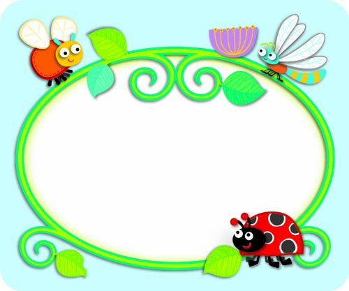 """Buggy"" for Bugs Name Tags"