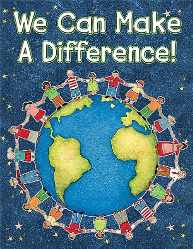 Teacher Created Resources SW We Can Make A Difference Chart, Multi Color (7694)