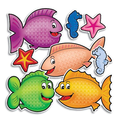 Scholastic Accent Punch-Outs - Fishy Fun