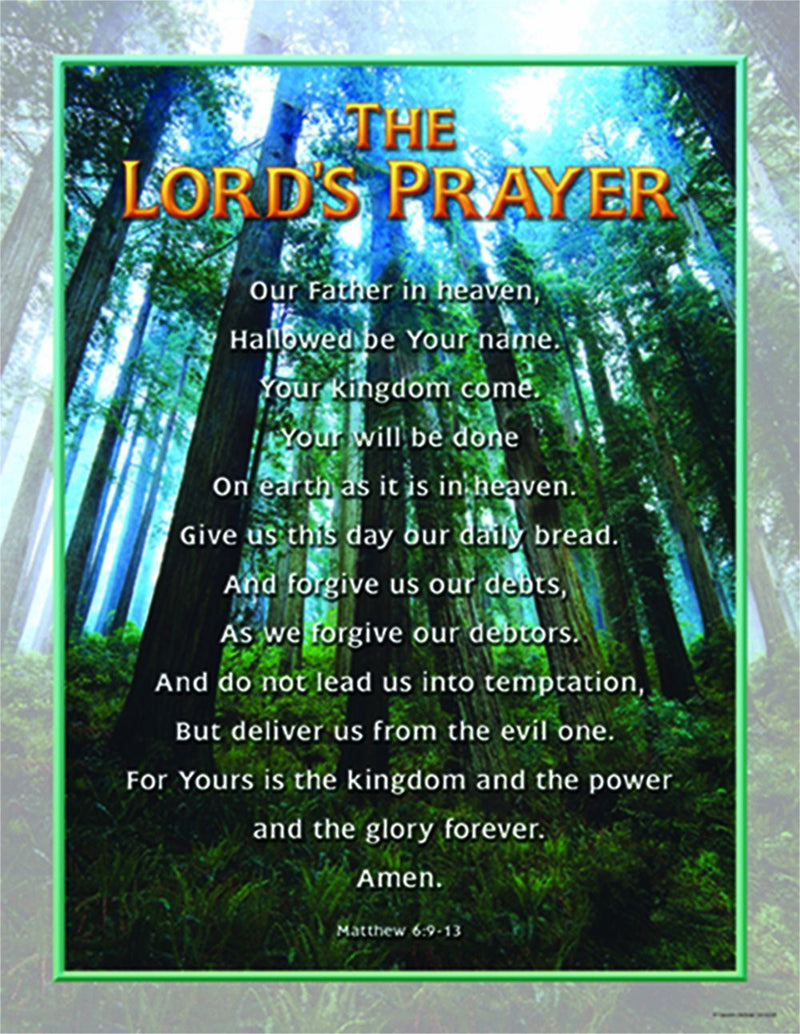 Carson Dellosa Christian The Lord's Prayer Chart (6328)
