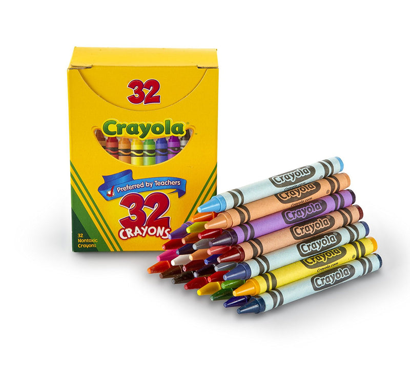 Crayola 32 Count Crayons Tuck Box
