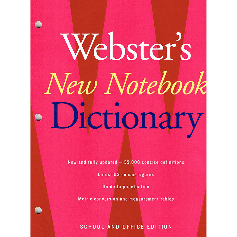 Webster's New Notebook Dictionary