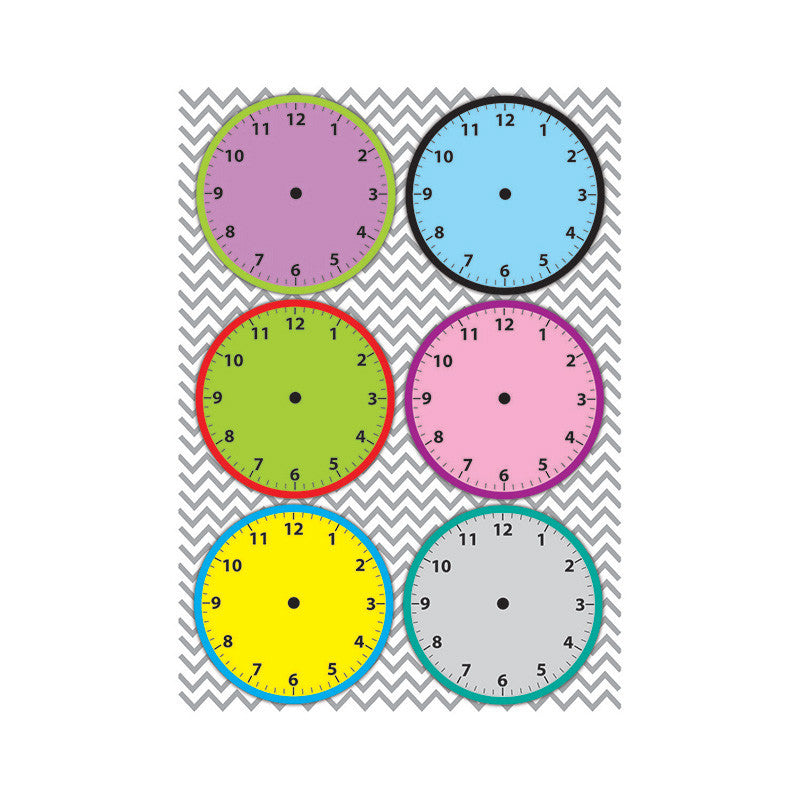 Magnetic Time Organizers Clockfaces