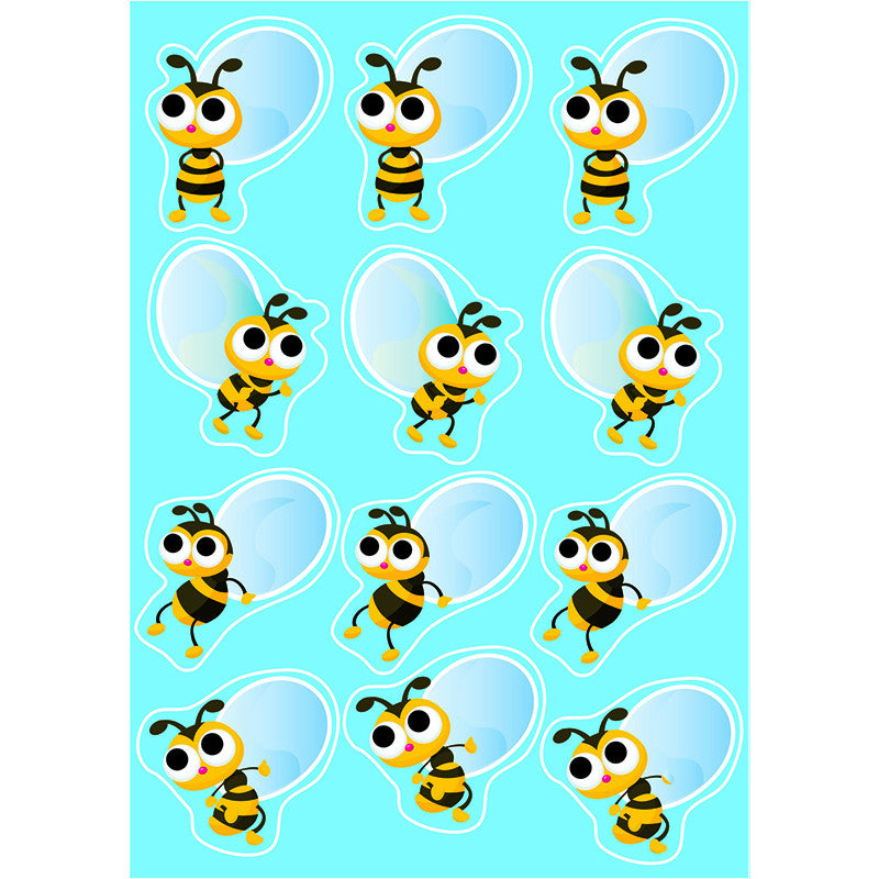 Die Cut Magnets Bees