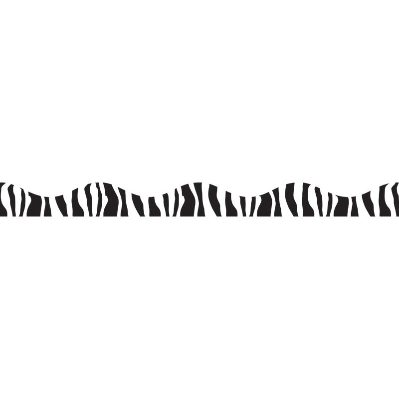 Zebra Magnetic Border 12Ft