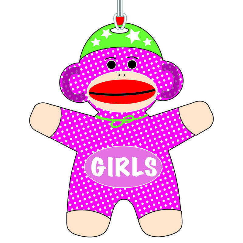 Sock Monkey Girls Hall Pass