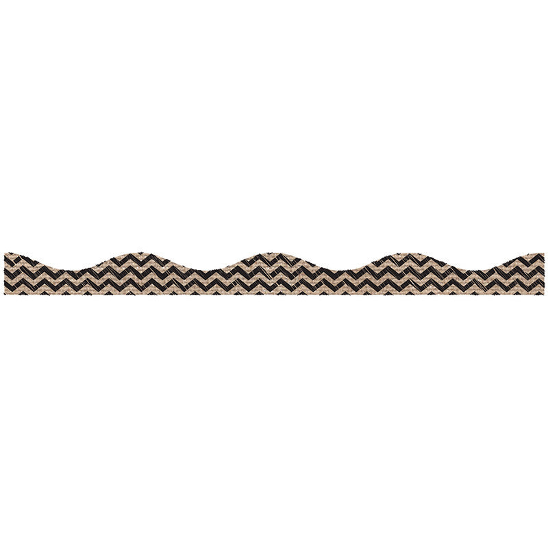 Ashley Productions Big Magnetic Border Scribble - Black