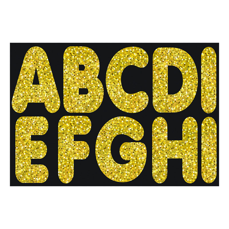 Ashley Productions 2.75 Inch Magnetic Letters - Black