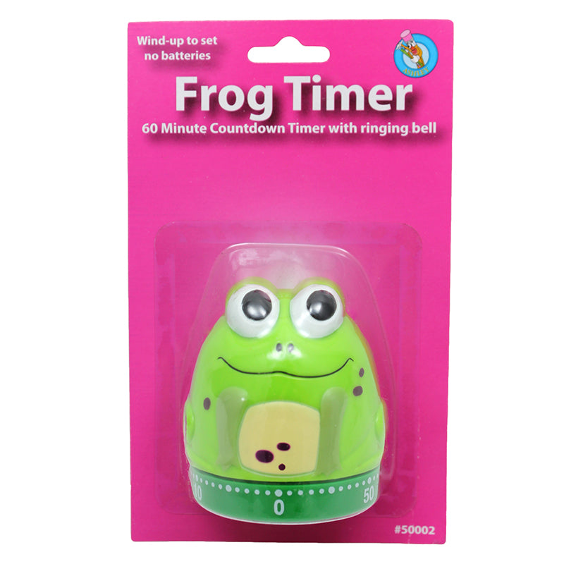 Ashley Productions Mechanical Frog Timer