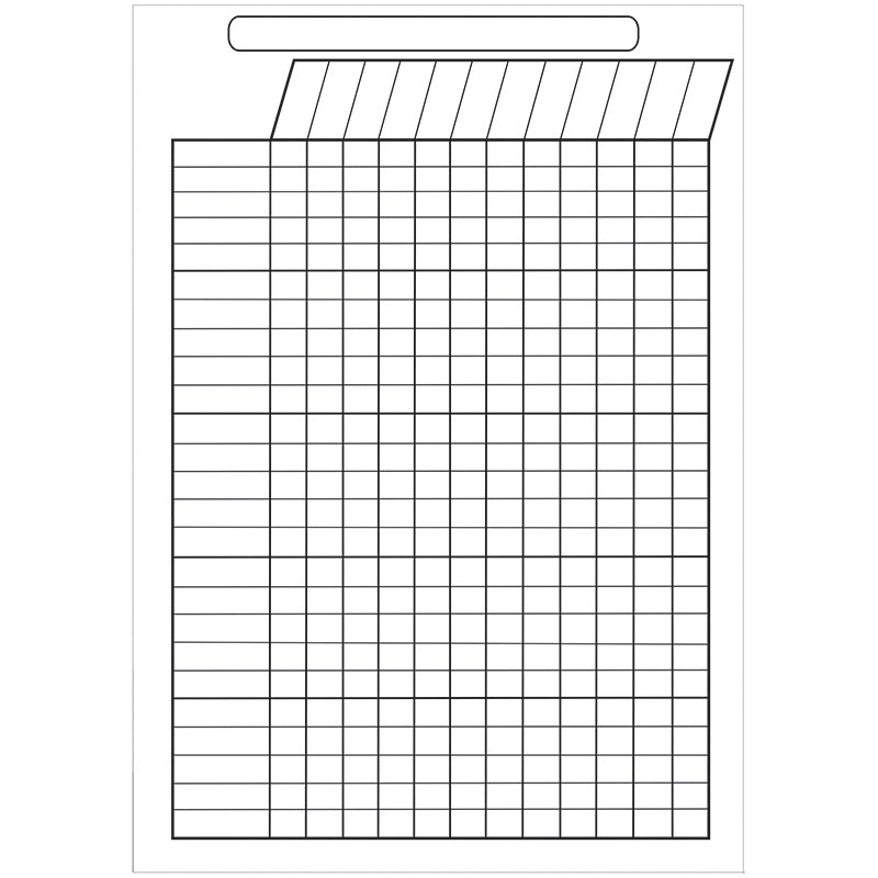 Ashley Productions Large Magnetic Incentive Chart