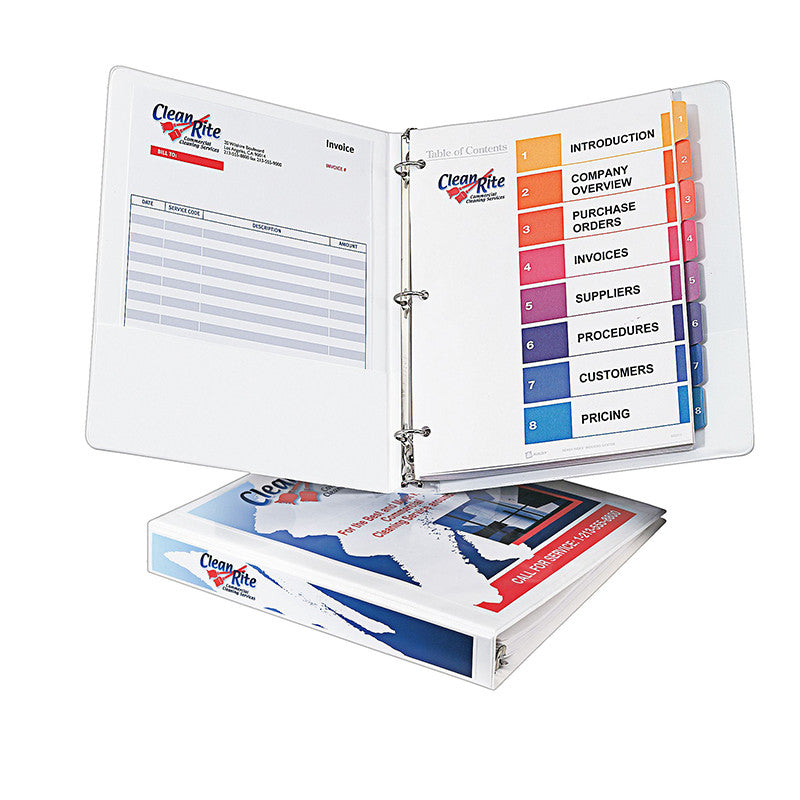 Avery 1 Inch Capacity View Binder