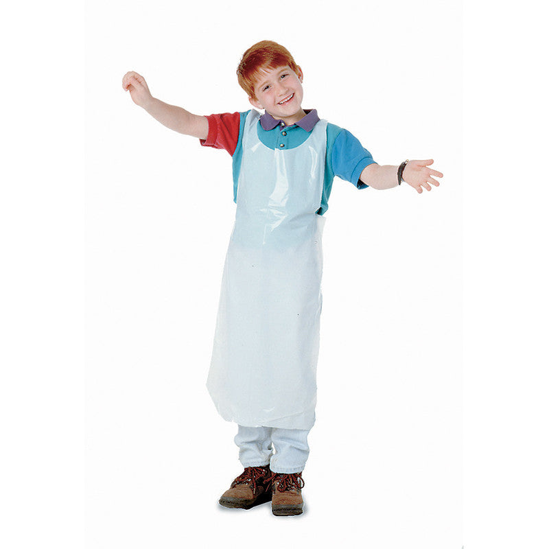 Children's Disposable Aprons 100Pk