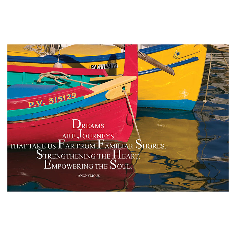 Barker Creek & Lasting Lessons Dreams Are Journeys Poster
