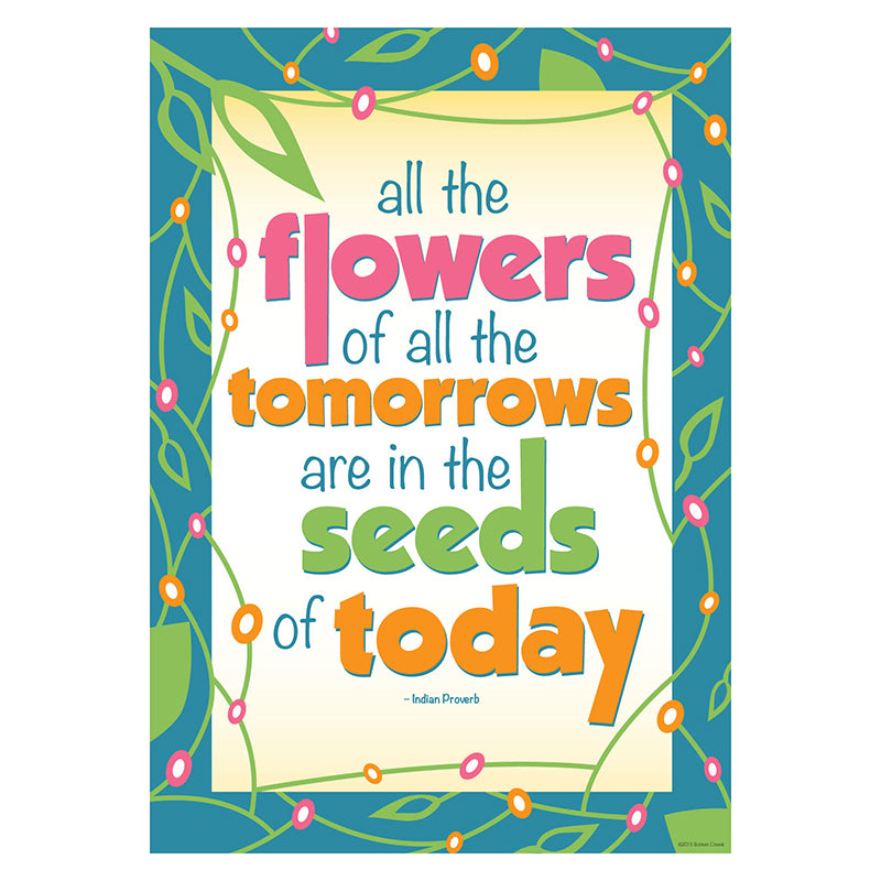 Barker Creek & Lasting Lessons All The Seeds Of Tomorrow Poster