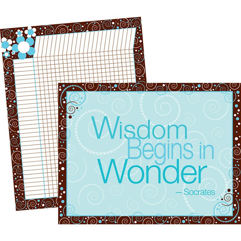 Barker Creek & Lasting Lessons Wisdom Wonder Chart Set