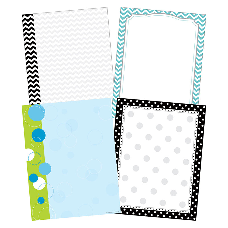 Barker Creek & Lasting Lessons Chevron & Dots Paper Set