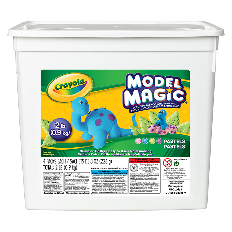 Crayola LLC Model Magic Pastel 2 Lb Bucket
