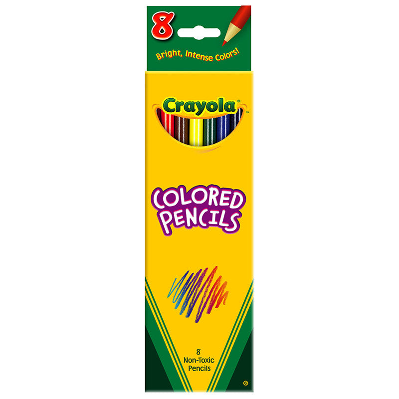 Crayola Colored Pencils 8 Ct Assorted
