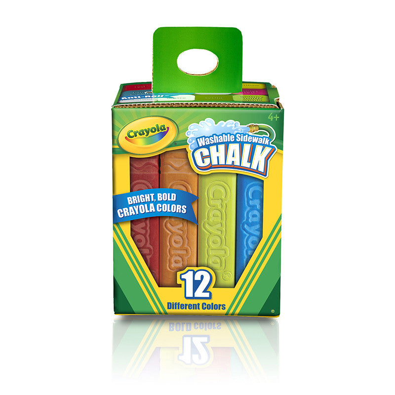 Crayola Washable Sidewalk Chalk 12 Ct