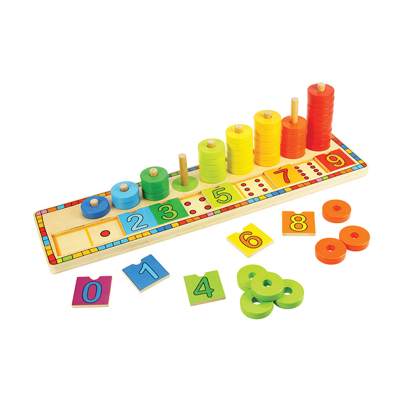Bigjigs Toys Learn To Count Wooden Puzzle