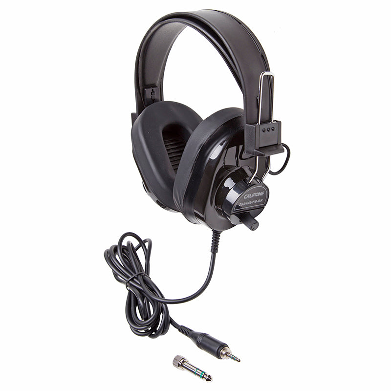 Califone International Deluxe Student Stereo Headphones
