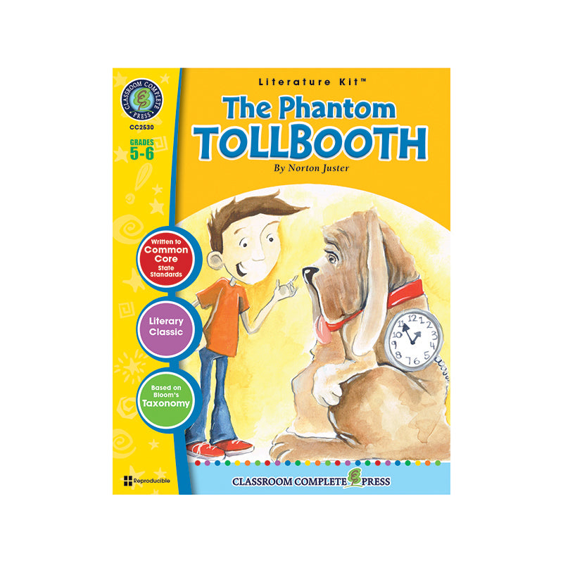 Classroom Complete Press The Phantom Tollbooth By Norton Juster Literature Kit