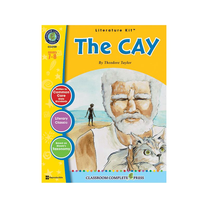 Classroom Complete Press The Cay By Theodore Taylor Literature Kit