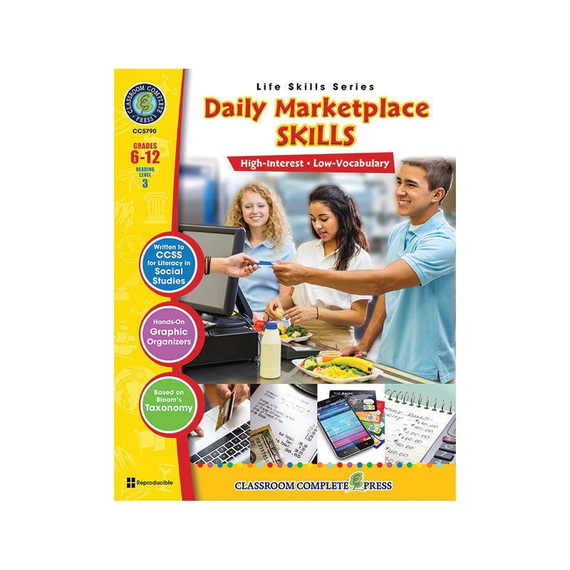 Classroom Complete Press Daily Marketplace Life Skills Book