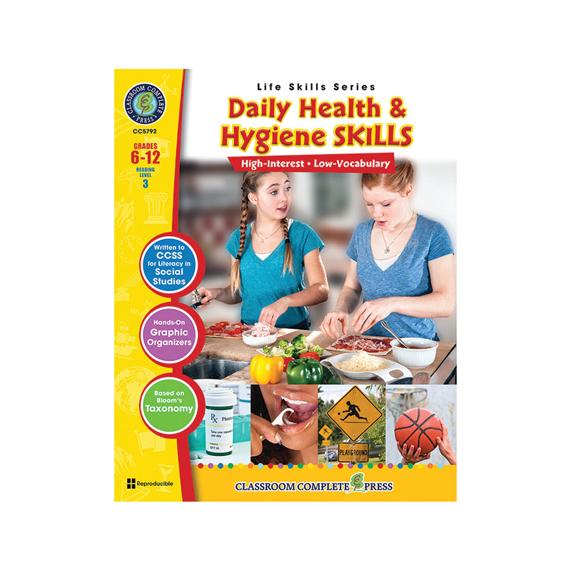 Classroom Complete Press Daily Health & Hygiene Life Skills Book