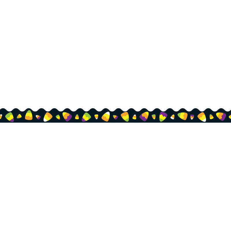 Carson Dellosa 36 Foot Scalloped Border - Candy Corn