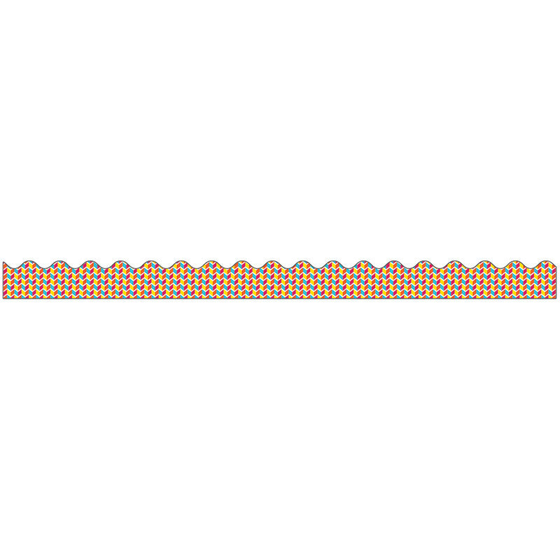 Carson Dellosa School Pop 39 Foot Scalloped Border