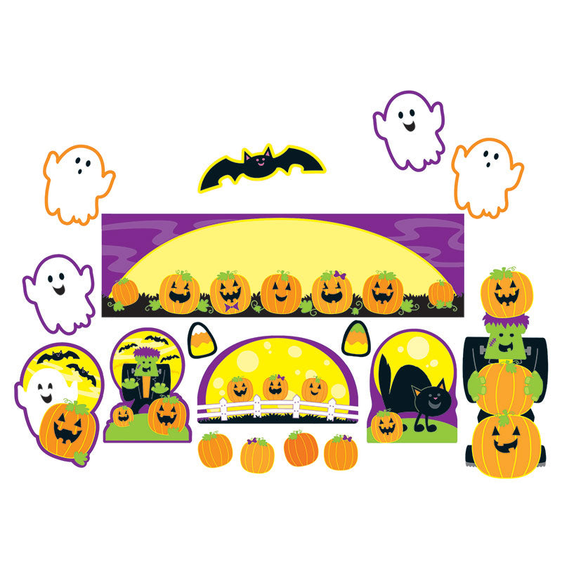 Carson Dellosa 46 Piece Halloween Mini Bulletin Board Set
