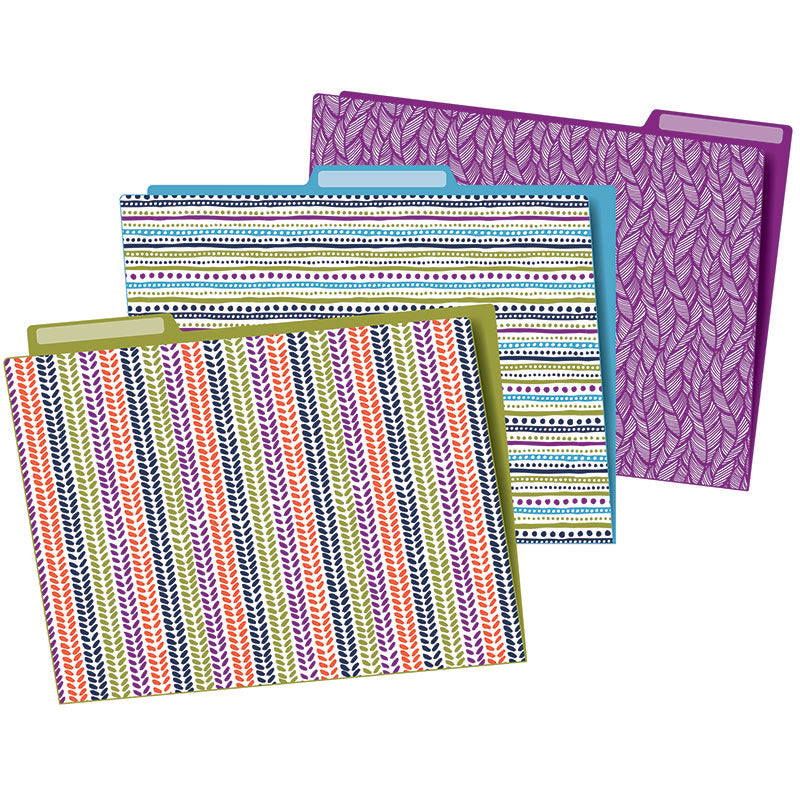 Carson Dellosa You-Nique 6 Pack File Folders