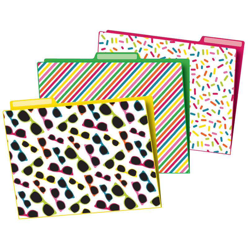 Carson Dellosa School Pop 6 Pack File Folders