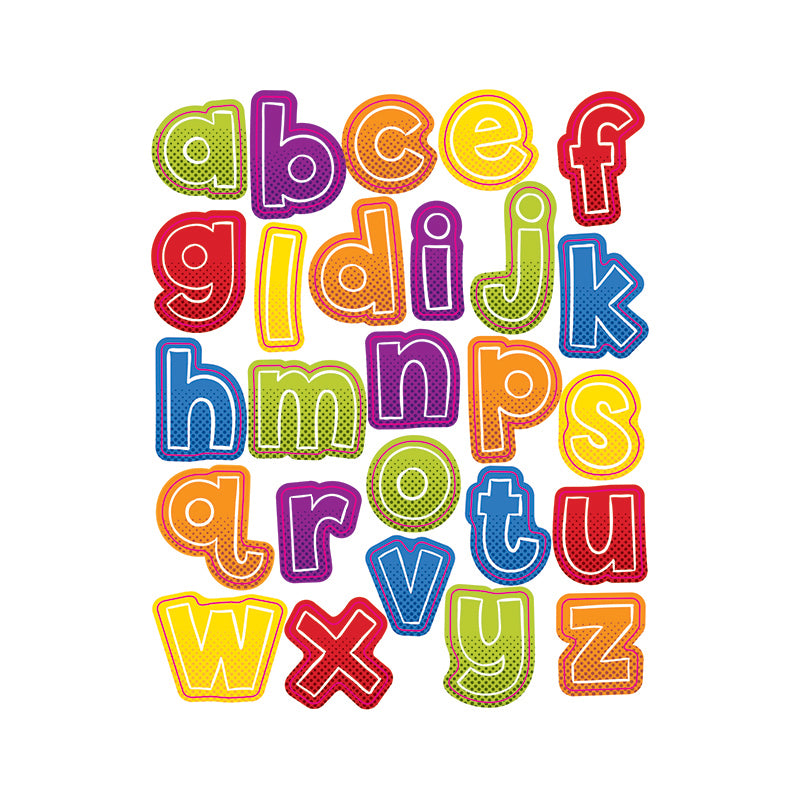 Carson Dellosa Super Power 156 Pack Alphabet Lowercase Letter Stickers