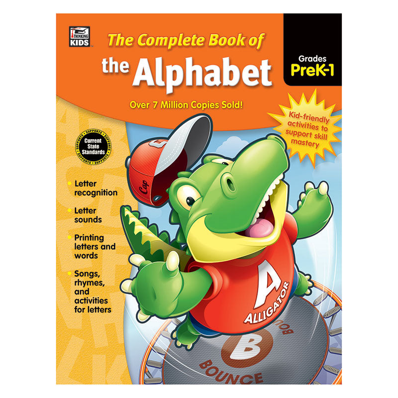 Carson Dellosa Complete Book Of The Alphabet Grades Pre Kindergarten-1st