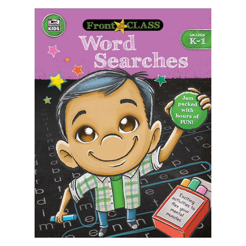 Carson Dellosa Word Searches Kindergarten-1st Grade