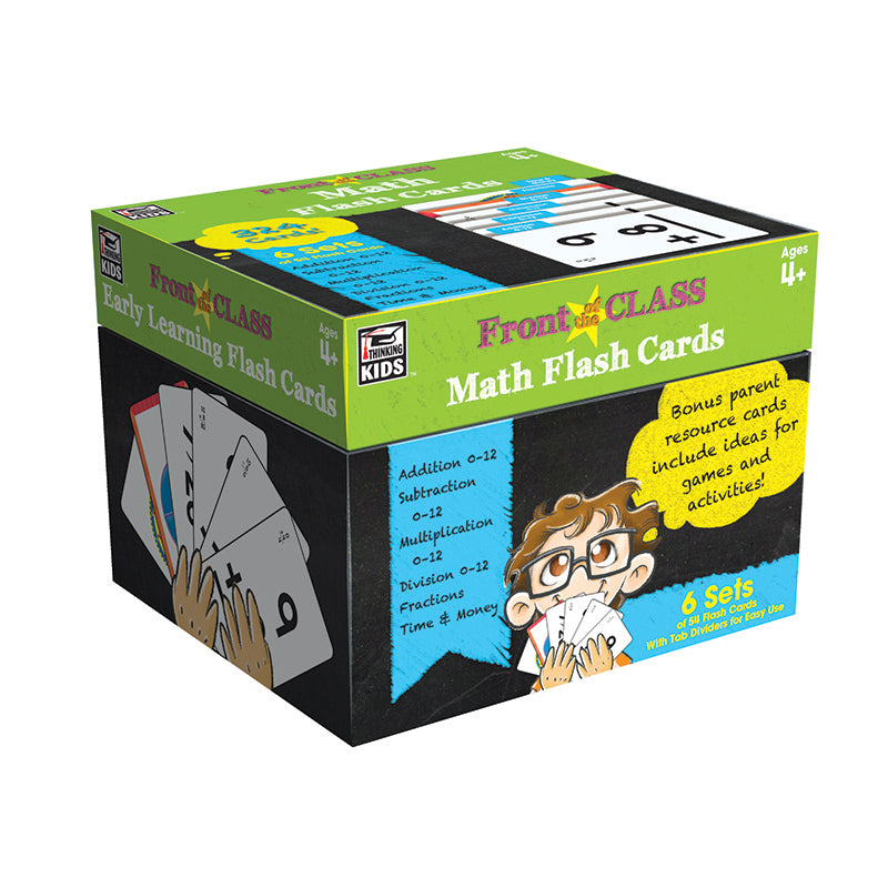 Carson Dellosa Math Flash Cards Grades Pre K-3