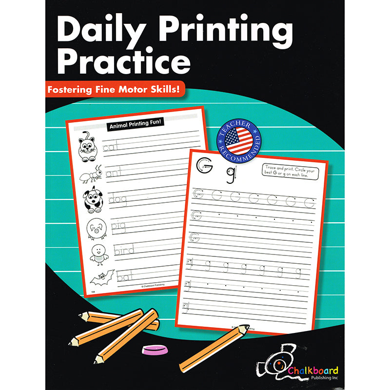 Nelson Education Daily Printing Practice Grades Kindergarten-2nd