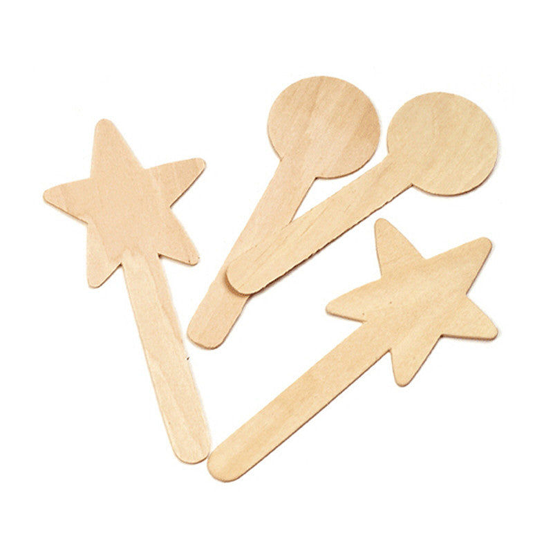 Large Geometric Shapes 36Pcs Craft Sticks